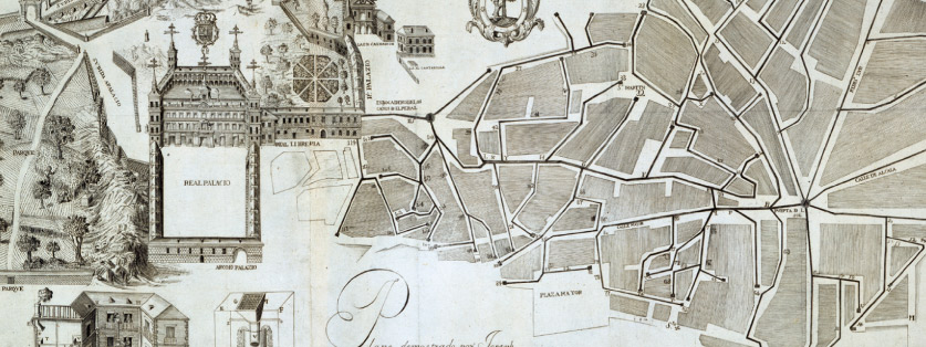 mapa antiguo de Madrid